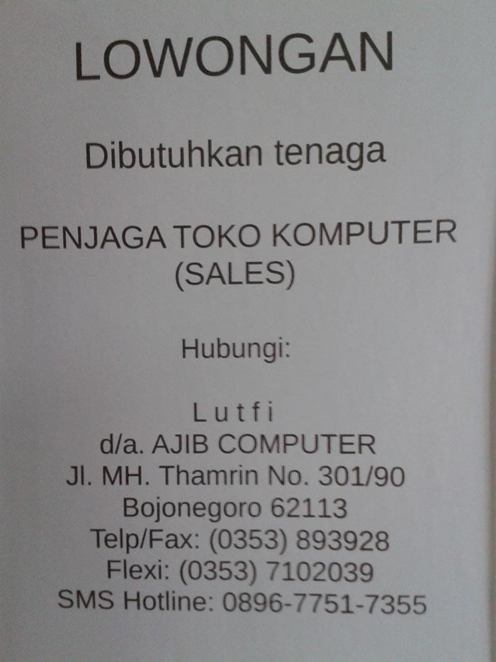 toko komputer mangga dua mall